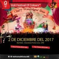 "Holi Festival Of Colours ""Crazy Wonderland Tour"" - Samedi 2 décembre 2017 18:00-22:00"